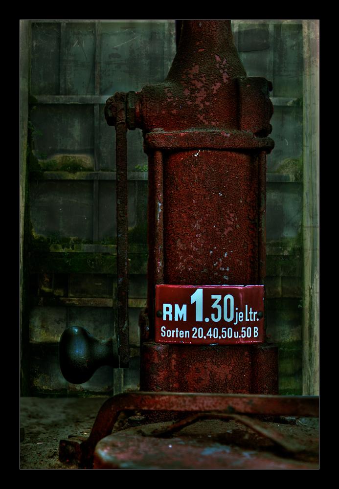 Benzinpreise an der Zapfsäule...