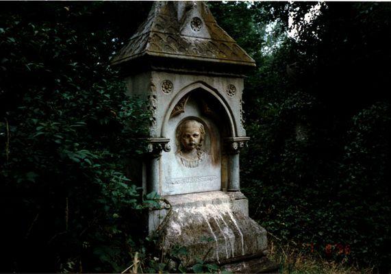 Beobachter des Friedhofs
