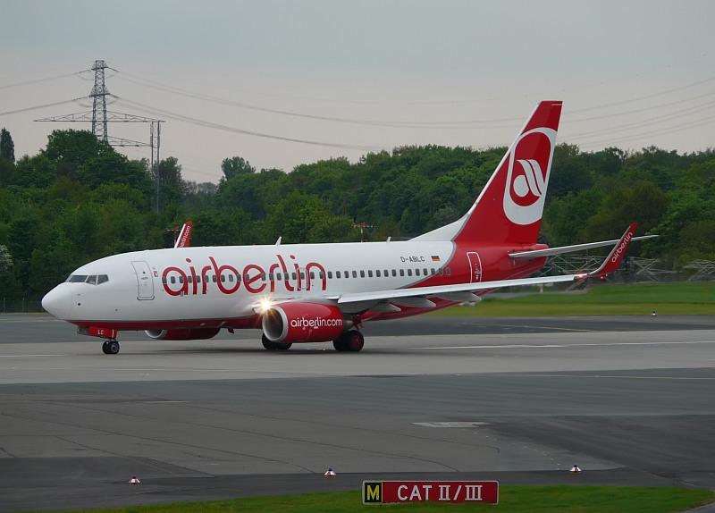 Beoing 737 Air Berlin