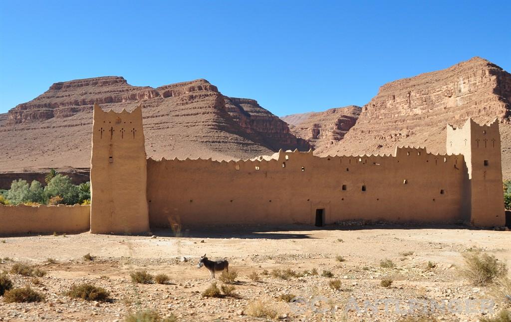 Berber-Festung auf dem Hohen Atlas