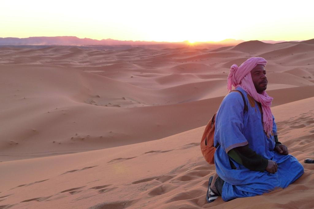 Berber im Erg Chebbi