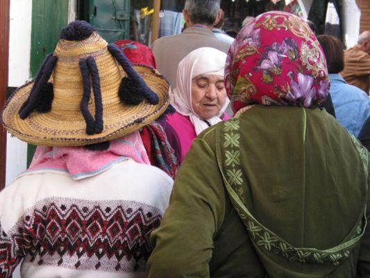 Berberfrauen (Tetuan)