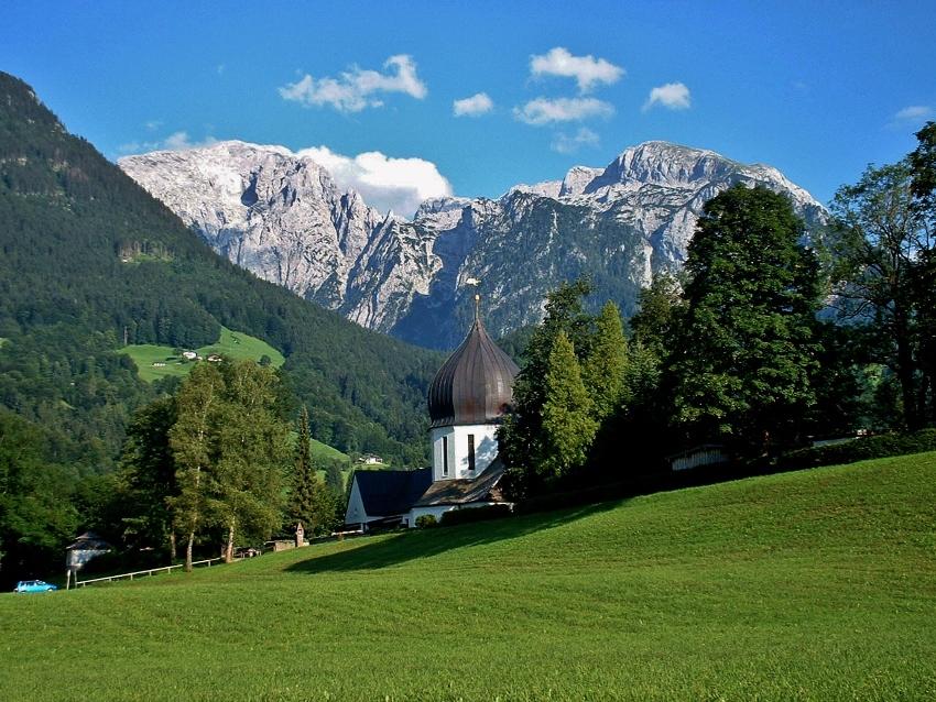 Berchtesgaden: Idyllisch gelegen