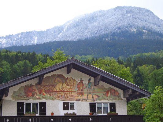 Berchtesgaden, Lüftlmalerei