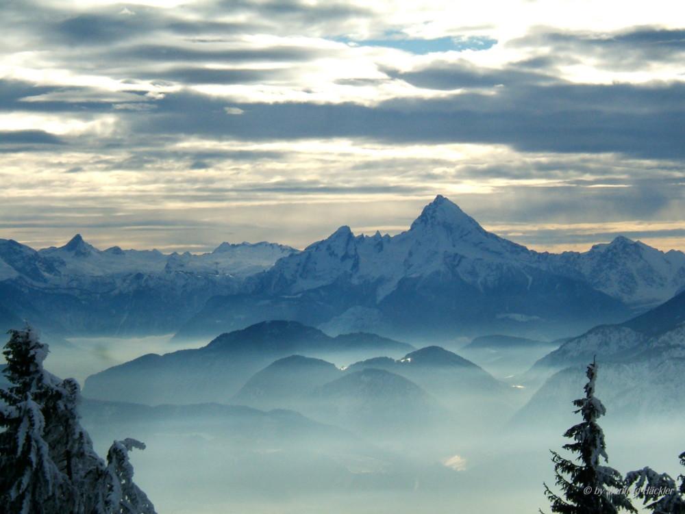 Berchtesgadener Land mit Watzmann