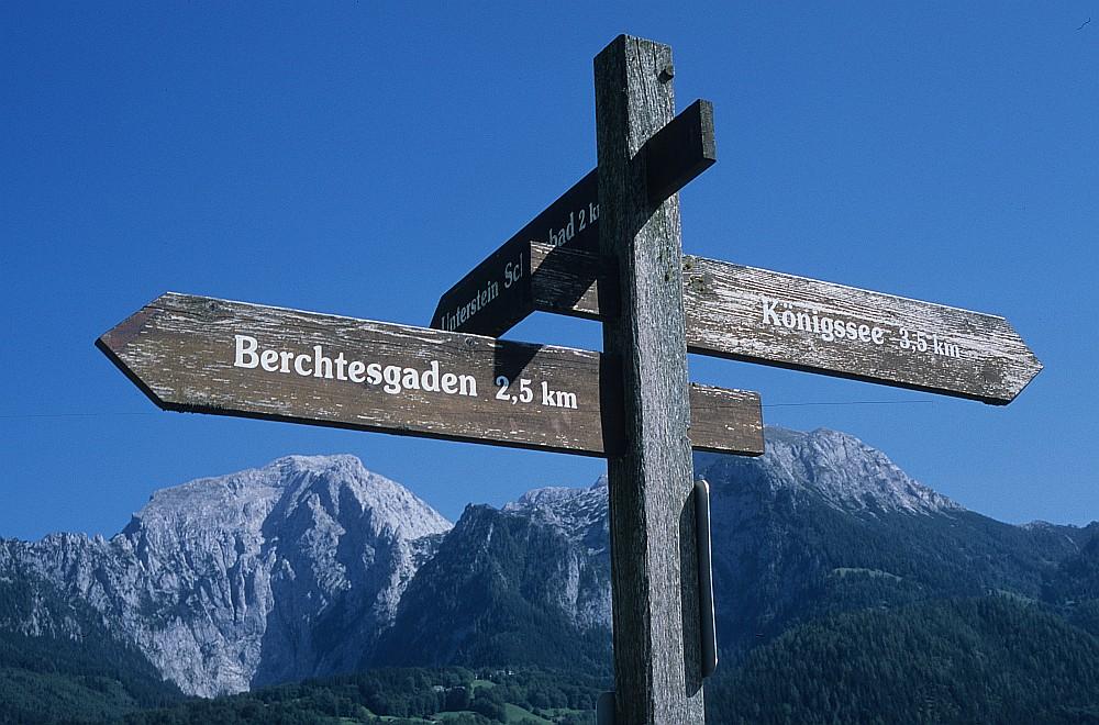 Berchtesgadner Land ...