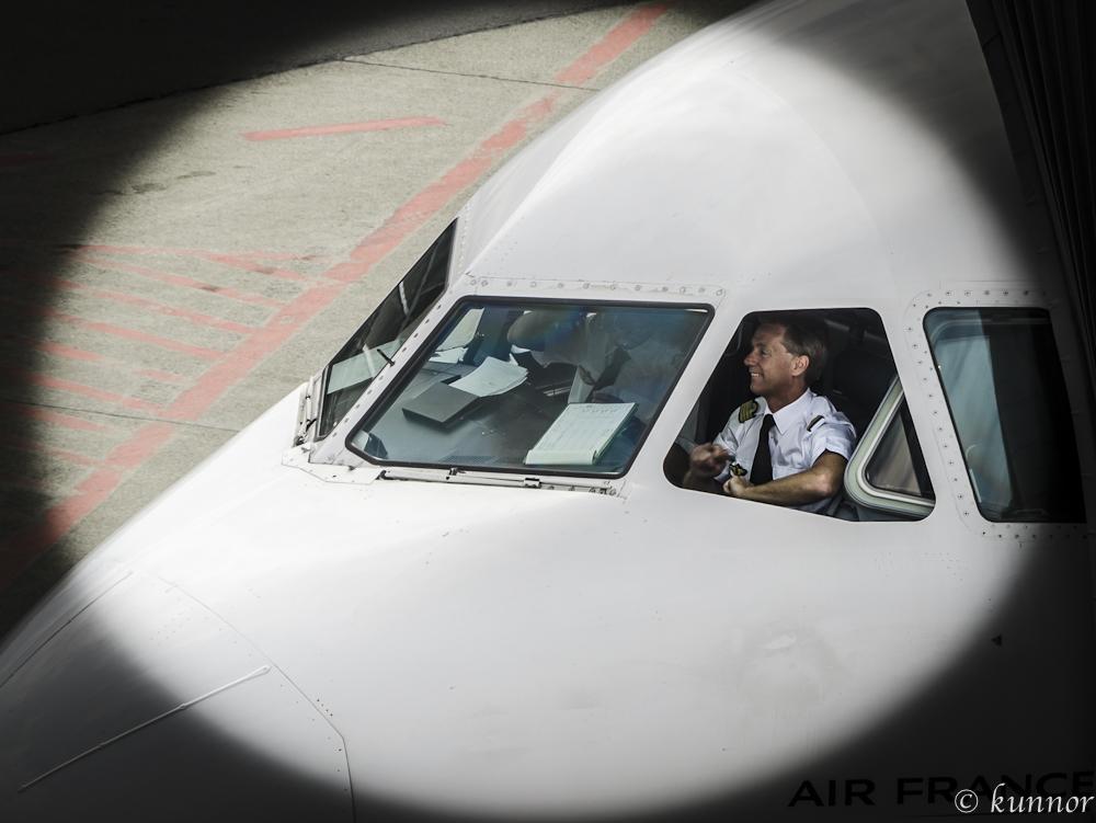 bereit für take off