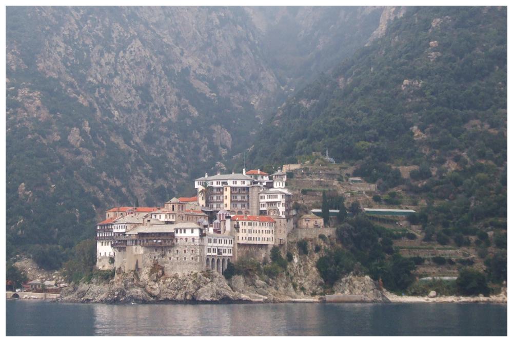Berg Athos - Klöster
