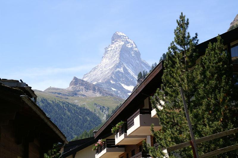 Berg der Berge: Das Matterhorn bei Zermatt