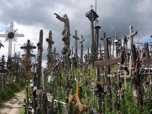Berg der Kreuze bei Siauliai
