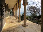 Berg der Seligpreisung über dem See Genezareth