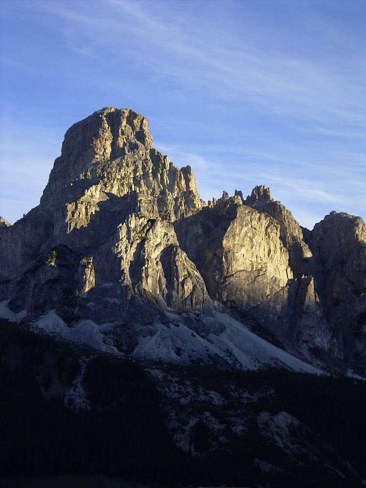 Berg im morgendlichen Glanz