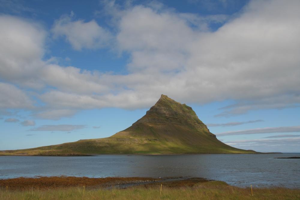 Berg in Westisland