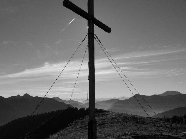 Berg mit Sicht