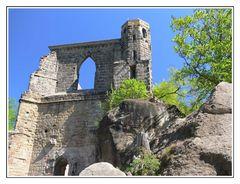 Berg Oybin - Klosterruine