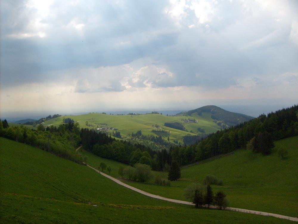 Berg= Schauinsland  (auch bei besonderem Wetter)