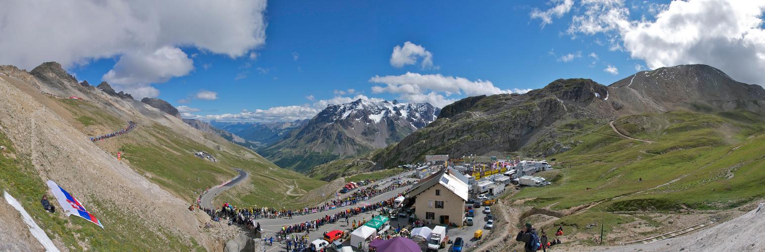 Bergankunft Tour de France 2011 - Col du Galibier