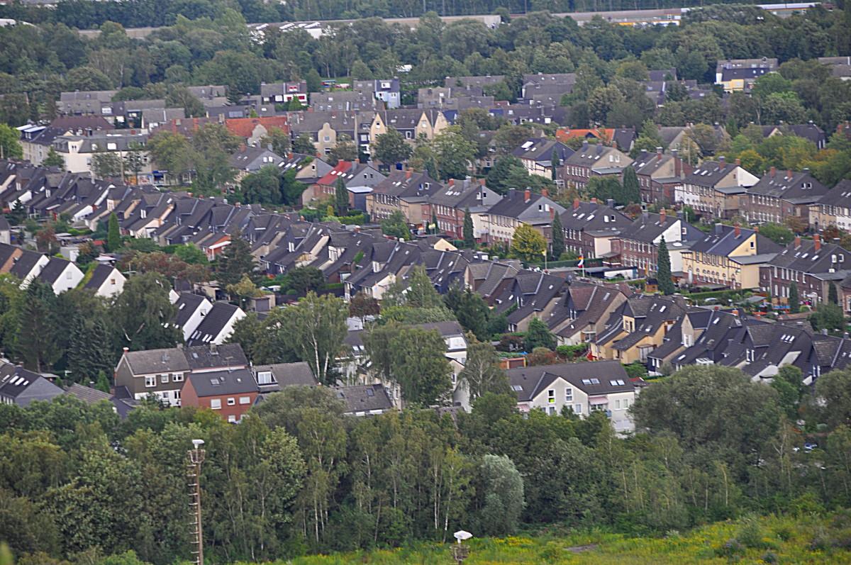 Bergarbeitersiedlung im Ruhrgebiet
