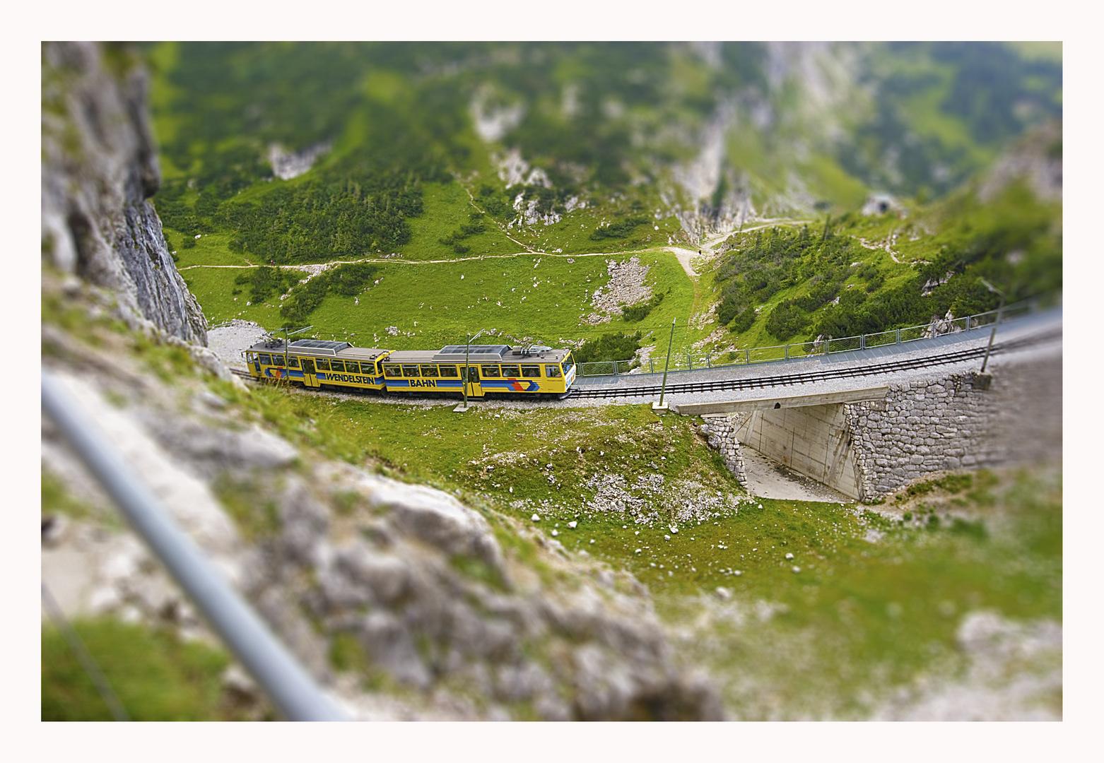 Bergbahn am Wendelstein