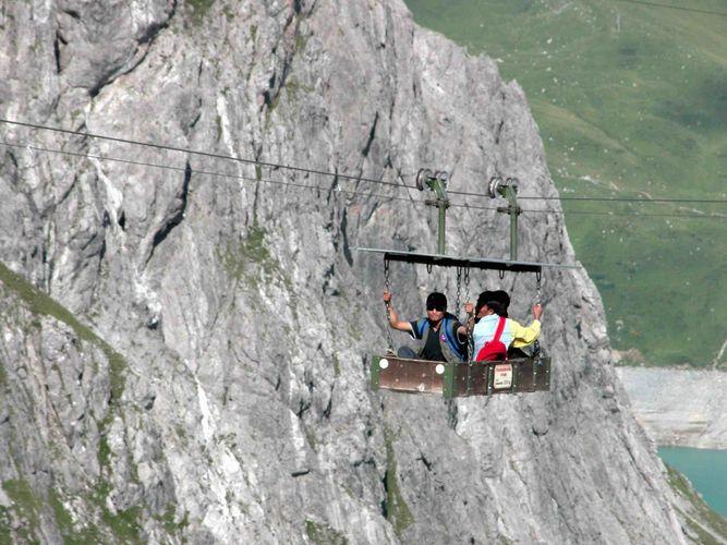 Bergbahn einmal anders
