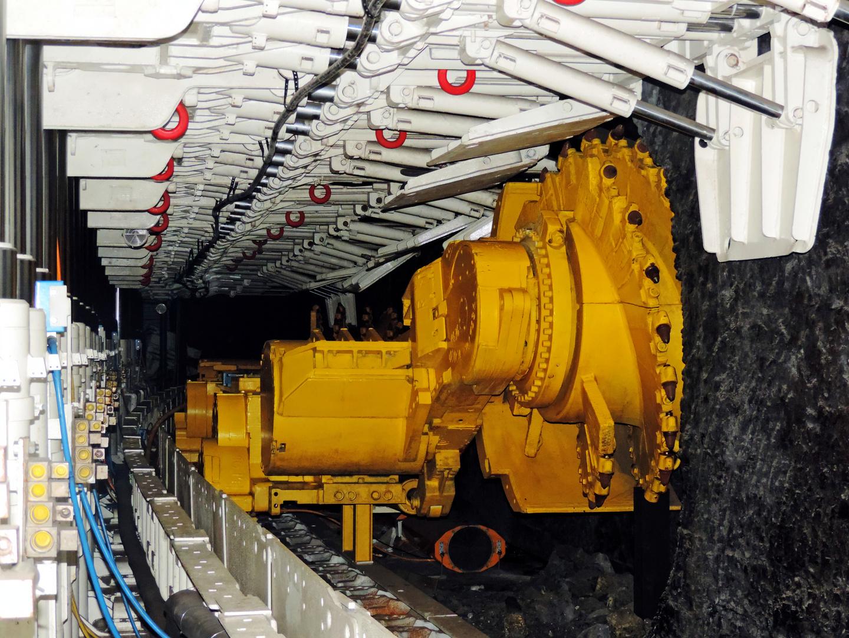 Bergbau- Konstrukt