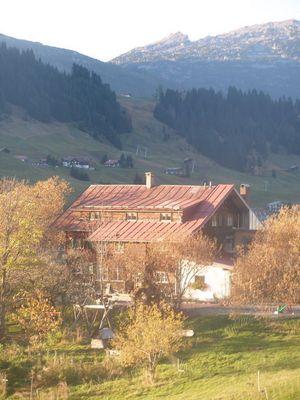 Bergbauernhof im Allgäu