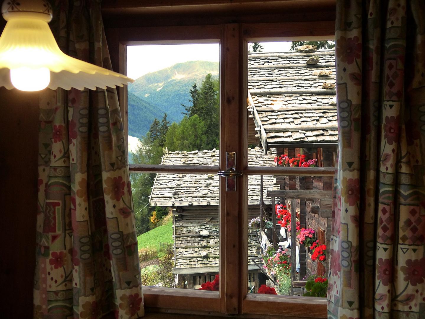 Bergbauernhof im Ultental bei Meran, Südtirol.