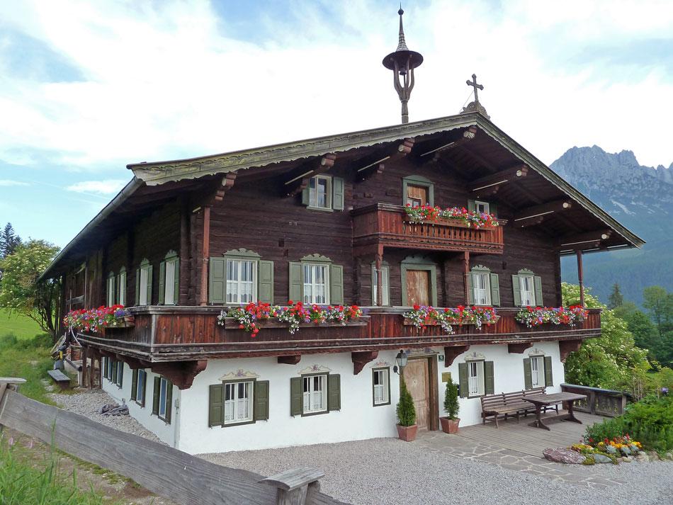Bergdoktor-Haus in Ellmau