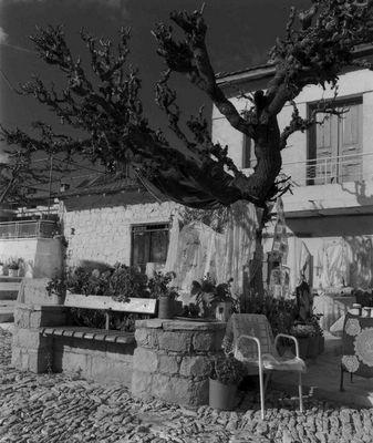 Bergdorf auf Zypern