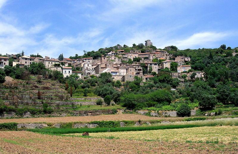Bergdorf in Haut Languedoc