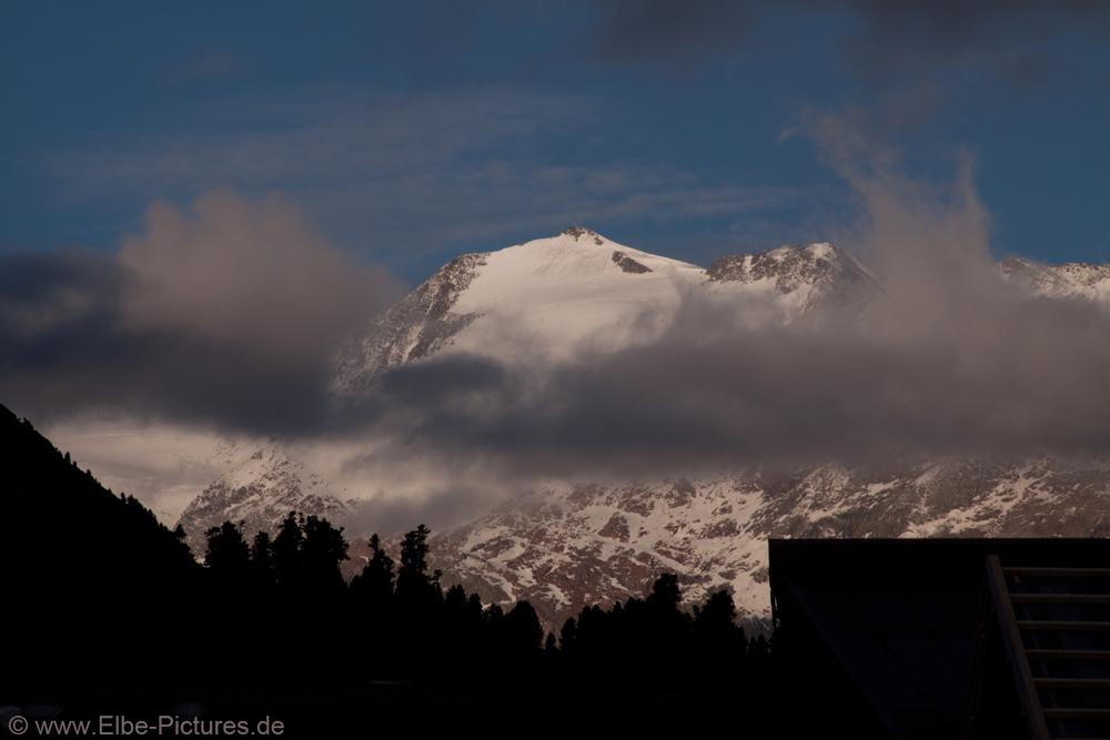 Berge am Morgen
