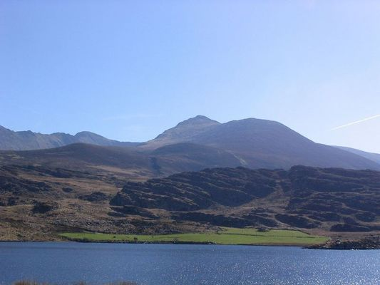 Berge am Ring of Kerry