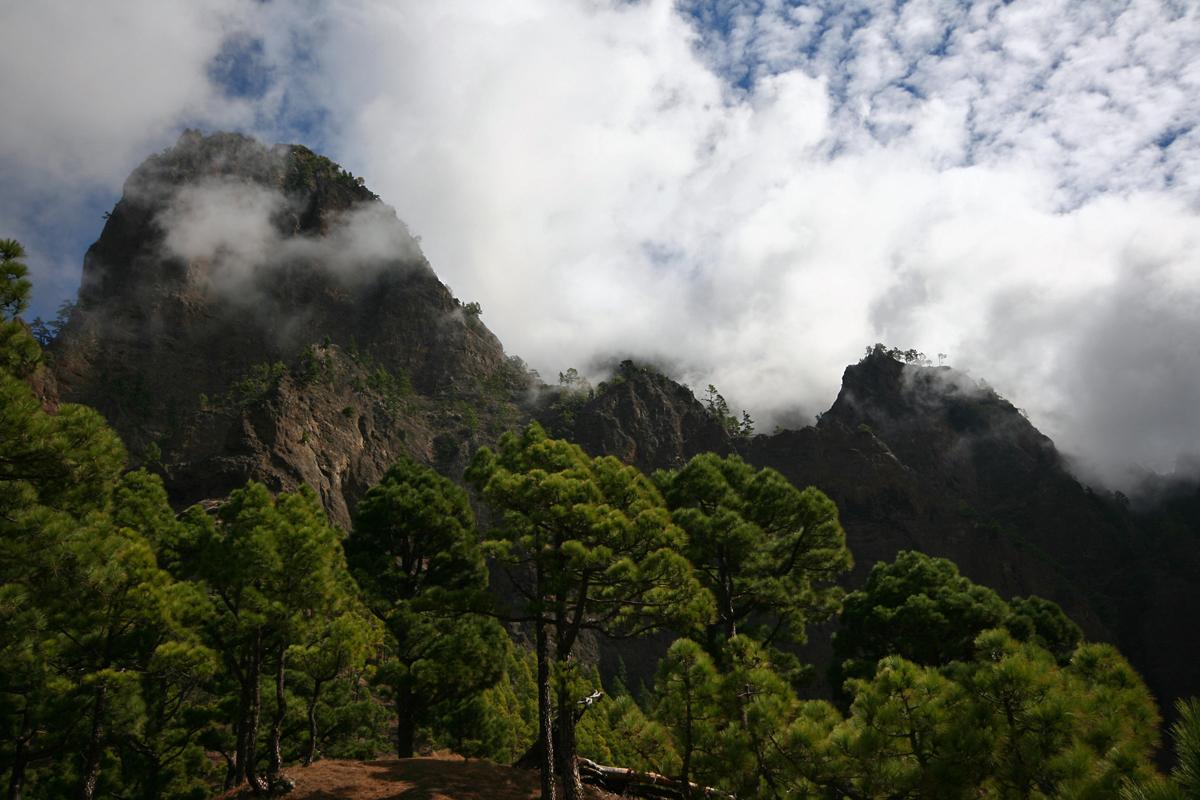Berge auf La Palma