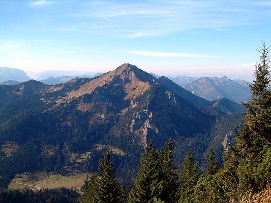 Berge bei Bergen