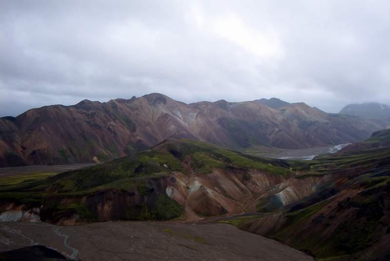 Berge bei Landmannlaugar