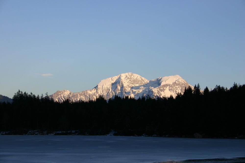Berge beim Hintersee