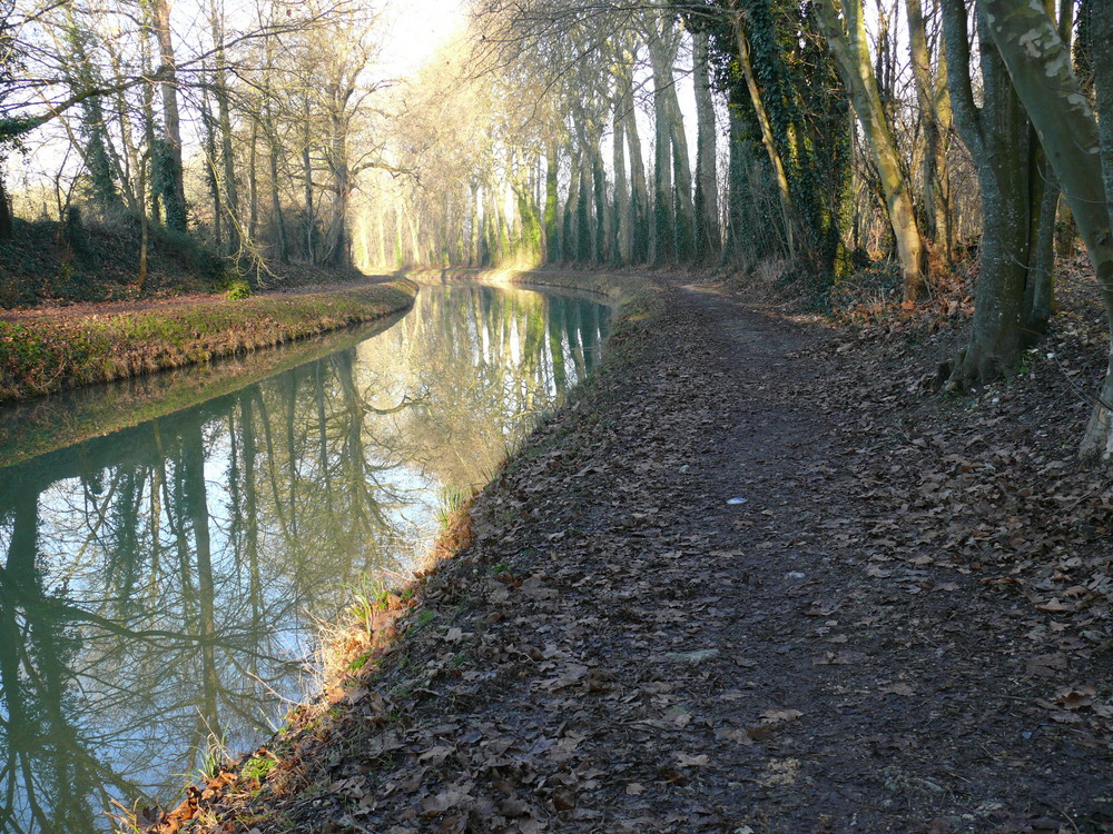 berge du canal