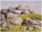 Berge, Felsen, Steine...