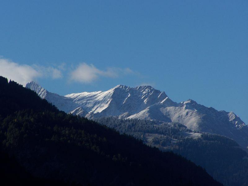 Berge hinter Chur