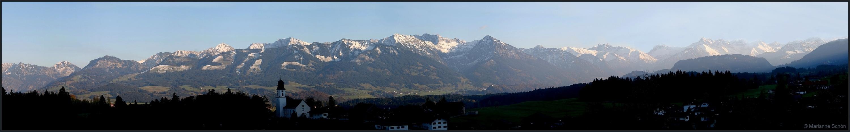 Berge im Allgäu...