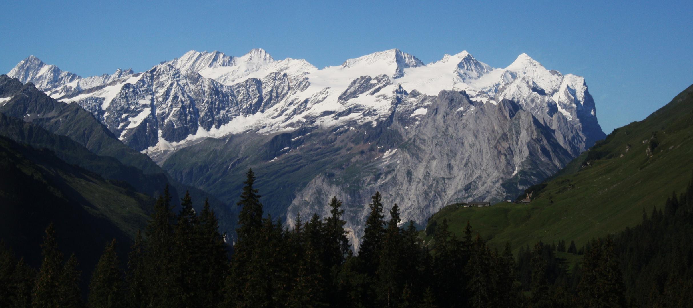 Berge im Haslital im Berner - Oberland