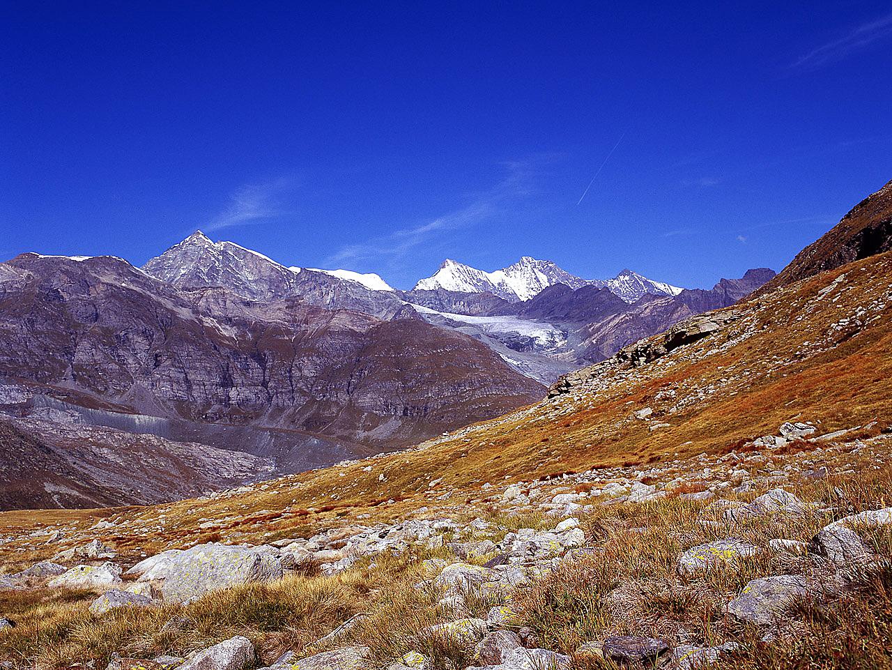 Berge im Wallis