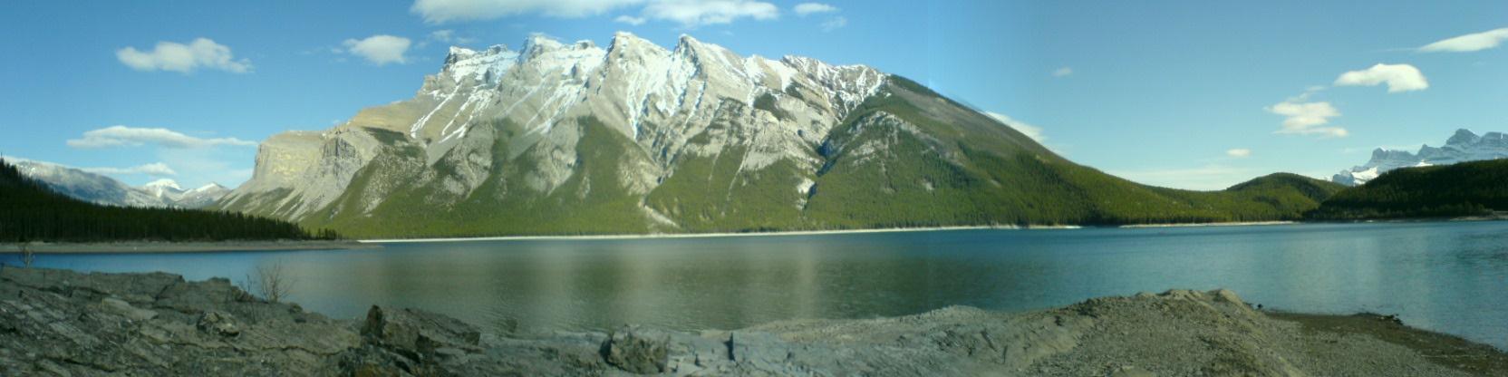 Berge in den Rockie Mountains