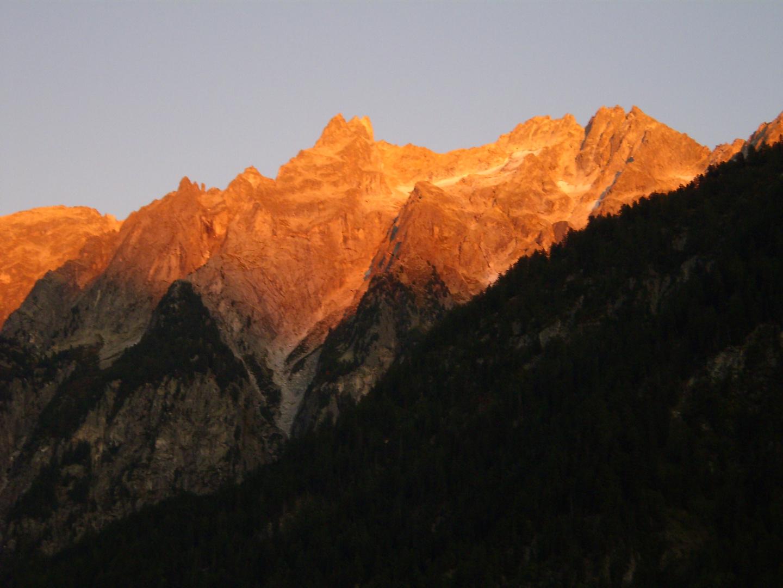 Berge in Flammen (1)