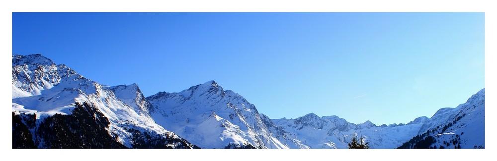 *** Berge in Weiß ***