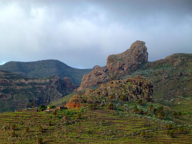 Berge La Gomera