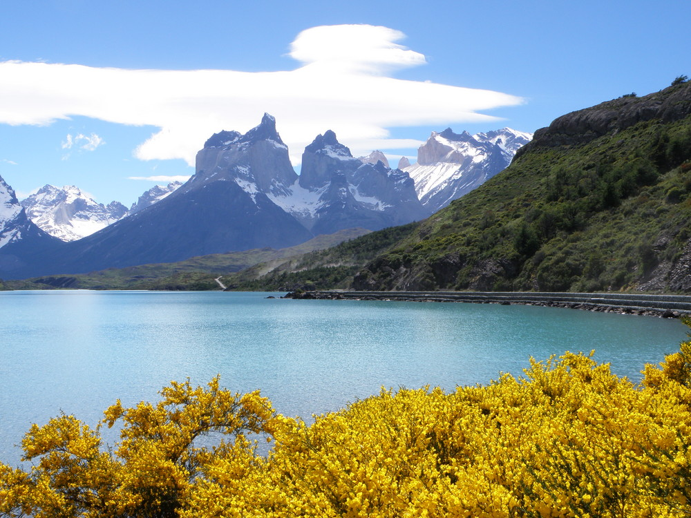 berge seen natur foto bild south america chile torres del paine n p bilder auf. Black Bedroom Furniture Sets. Home Design Ideas