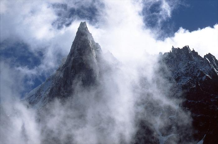 Berge um Chamonix