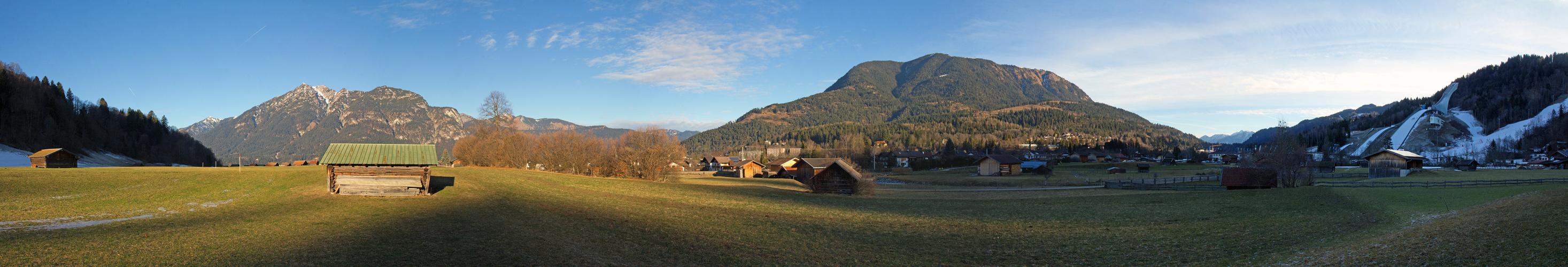 Berge um Garmisch Partenkirchen