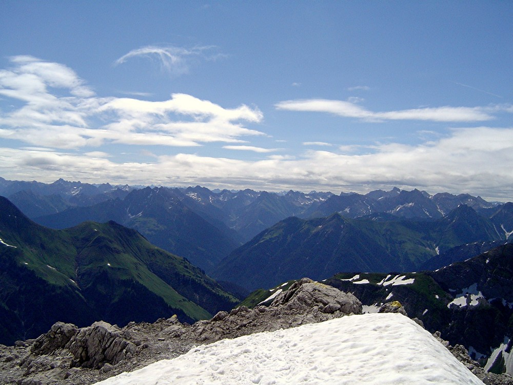 Berge - wohin das Auge schweift